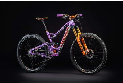 "Kirt Voreis's ""RIPPLE 9 RDO"" custom painted Niner 29er trail bike"